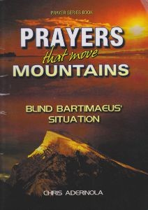 Prayers that move Mountains. Front Catalog