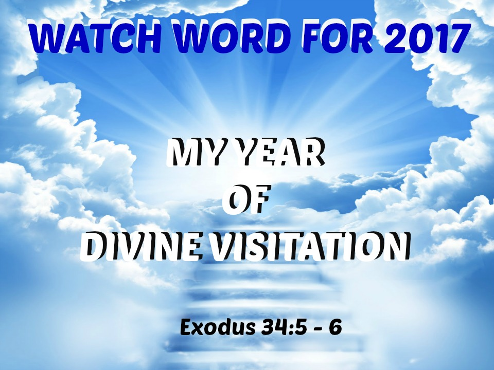 MY YEAR OF DIVINE VISITATION
