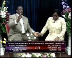 PASTORS CHRIS & FUNKE ADERINOLA. PREACHING: ARISE & SHINE. PART ONE.  2 OF 2