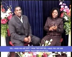PASTORS CHRIS & FUNKE ADERINOLA. PREACHING: THIS IS MY TIME. PART ONE. 1 of 2