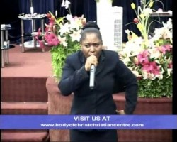 PASTOR FUNKE ADERINOLA. PREACHING: LORD FIGHT MY BATTLES FOR ME. PART FOUR. 4 OF 4