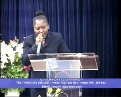 PASTOR FUNKE ADERINOLA. PREACHING: LORD FIGHT MY BATTLES FOR ME. PART ONE. 1 OF 4