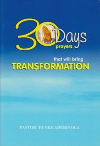 Prayers Transformation. Front. Catalog