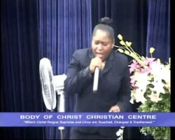 PASTOR FUNKE ADERINOLA. PREACHING: LORD FIGHT MY BATTLES FOR ME. PART THREE. 3 OF 4